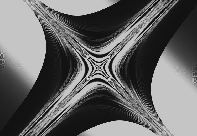 fractal, black, white - damien_away | ello