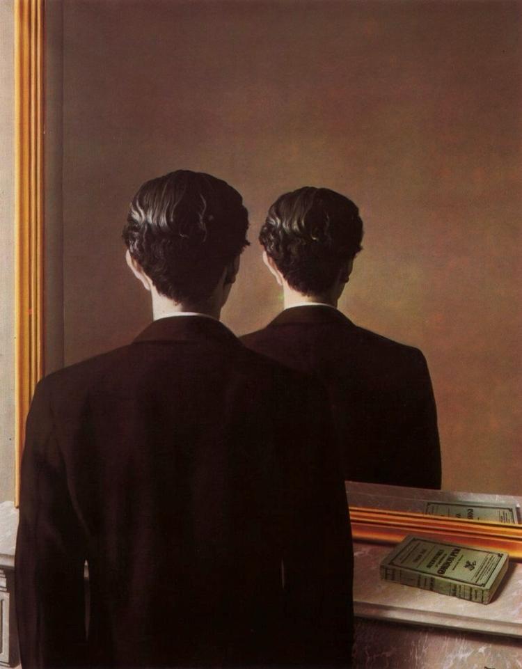 reproduced, 1948 René Magritte - leopercepied_ | ello