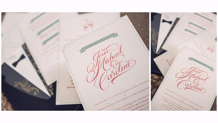 JM Caroline. collab work - weddings - joycemagpantay   ello