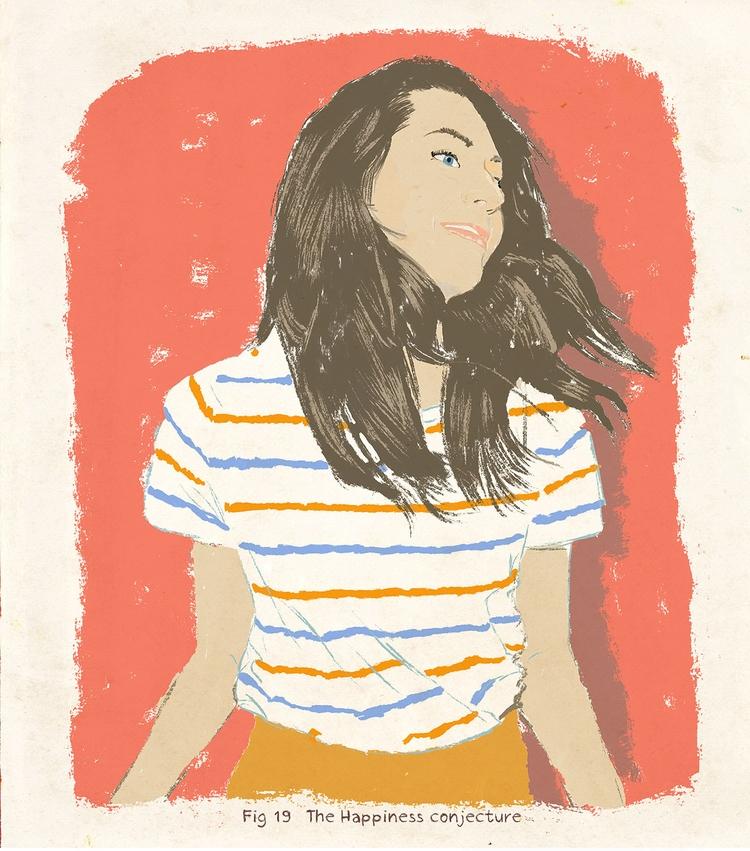Happiness  - artwork, illustration - zoe_vadim | ello