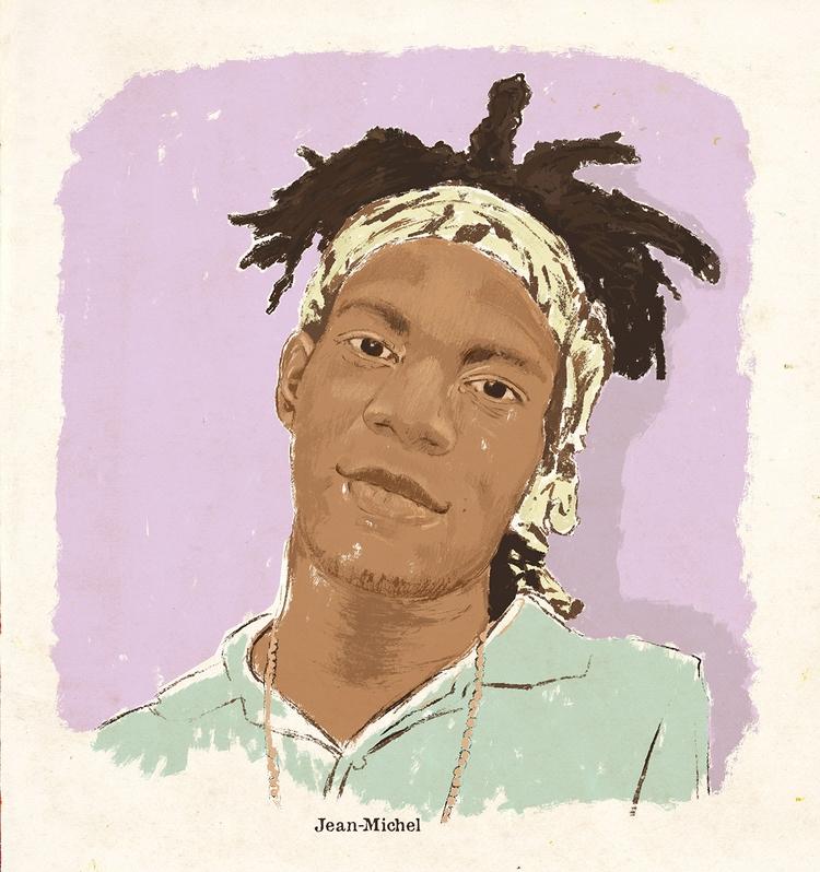 Jean Michel Basquiat - artwork, radiantchild - zoe_vadim | ello