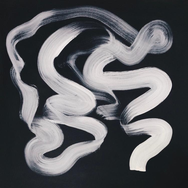 'Tinnitus' 2015. Acrylic canvas - thejanove | ello