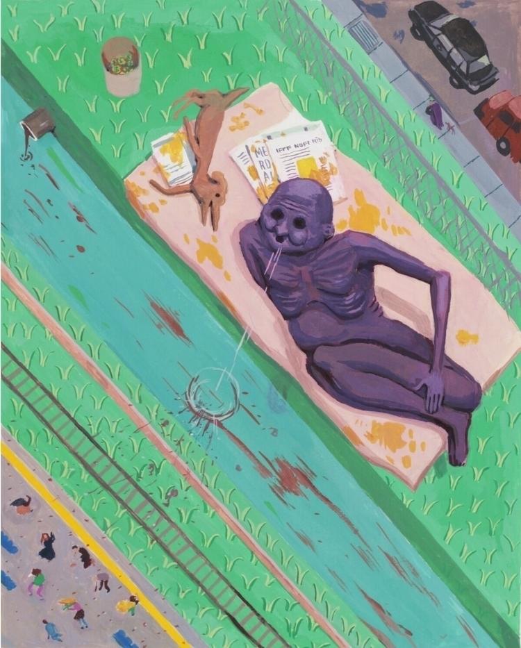 Giant - art, painting, gouache, giant - rseles | ello