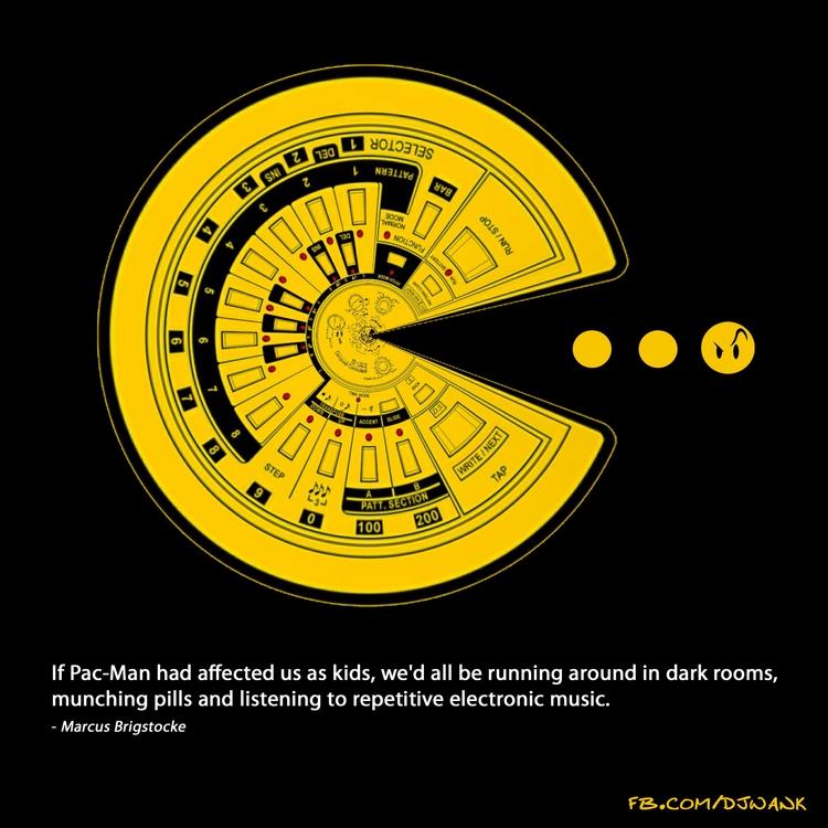 rooms, pills music. | - Pac-Man - djwank | ello