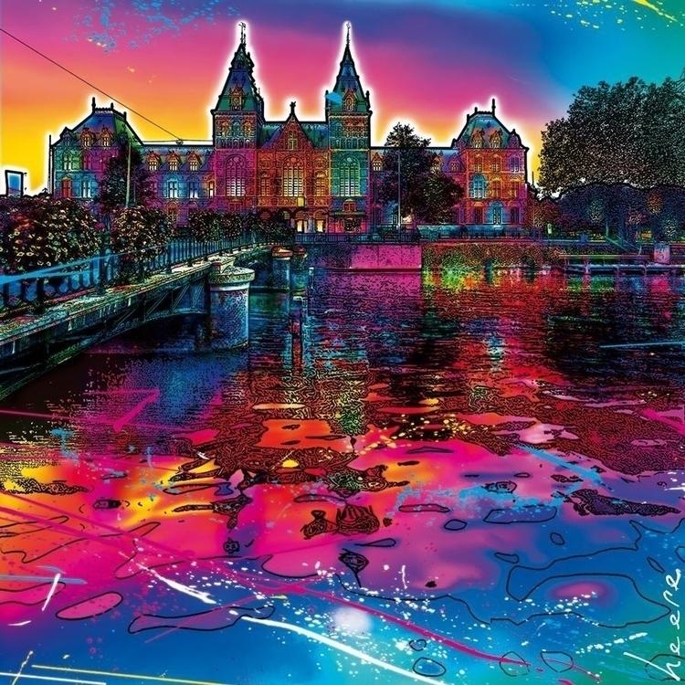 Rijksmuseum Amsterdam. Digital  - raymondheere | ello