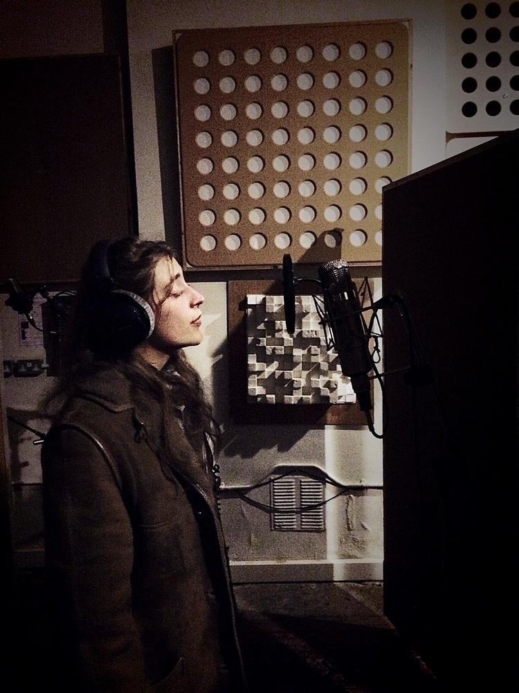 Elin Ivarsson recording vocals  - chrismyattrec | ello