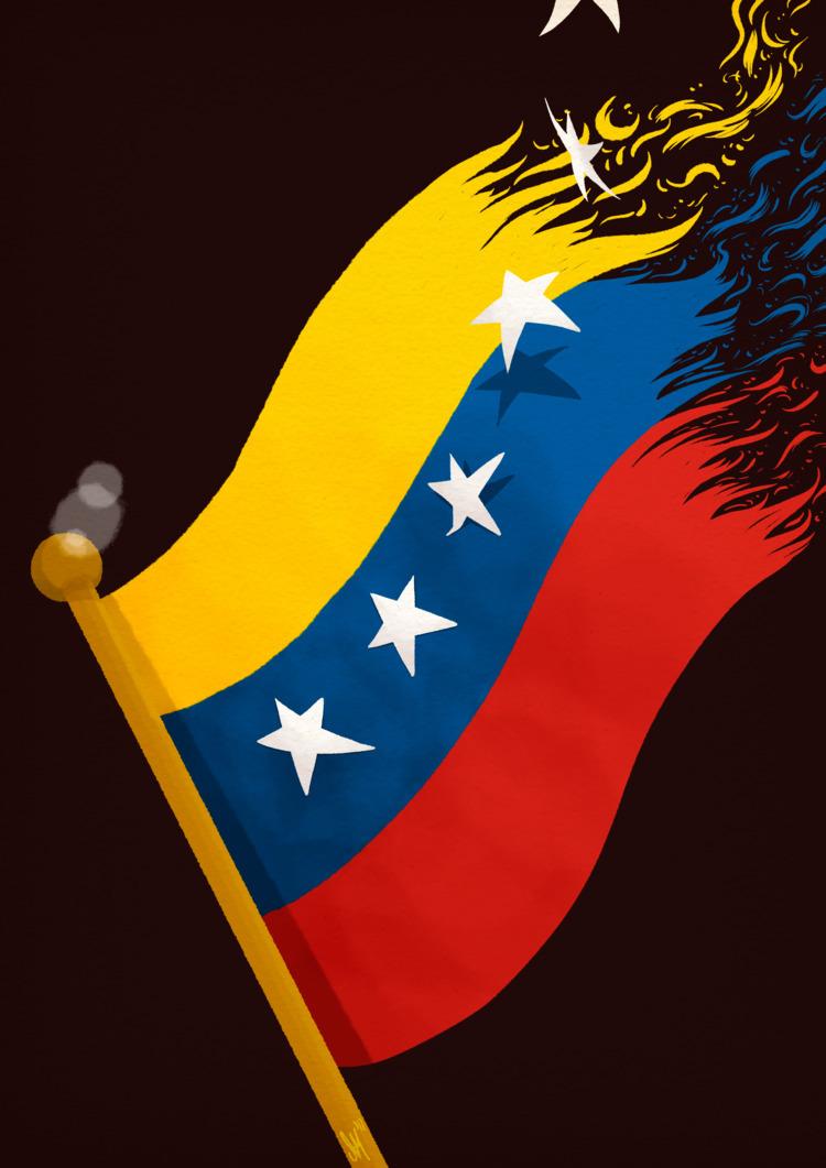 VENEZUELA LIBRE - art, illustration - altsam | ello