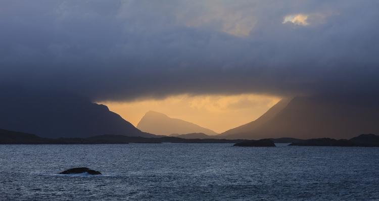Lofoten Sunset - photography, norway - anttitassberg | ello