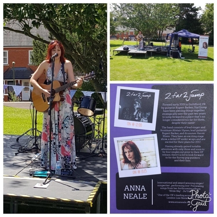 Supporting - gig!, Guildford!, onstage - annaneale   ello