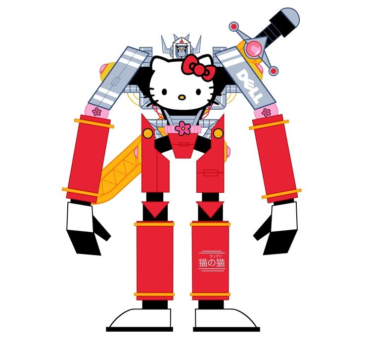 Sentai Kitty - mikedriver | ello