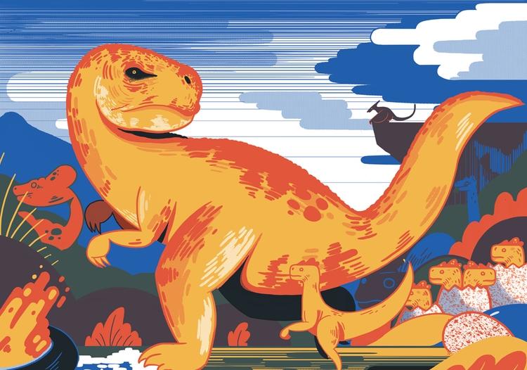 Dinosaurs - mikedriver   ello