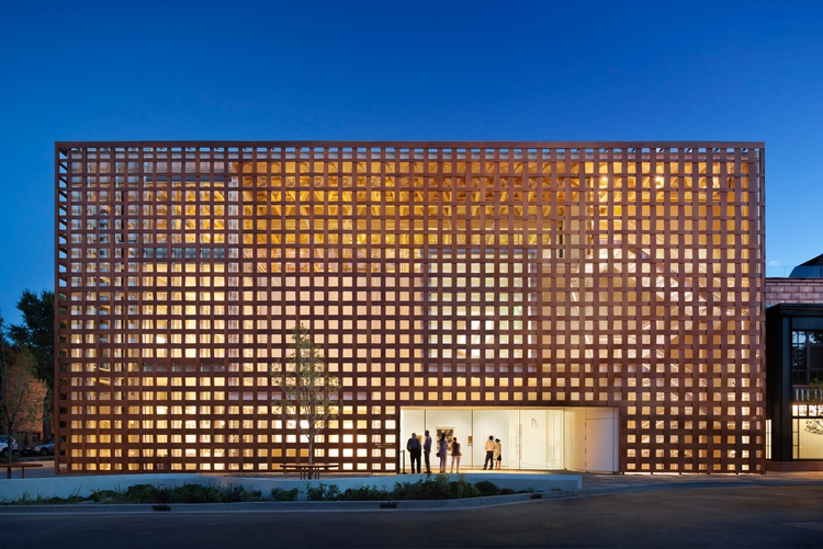Aspen Art Museum Shigeru Ban - museum - studionora | ello