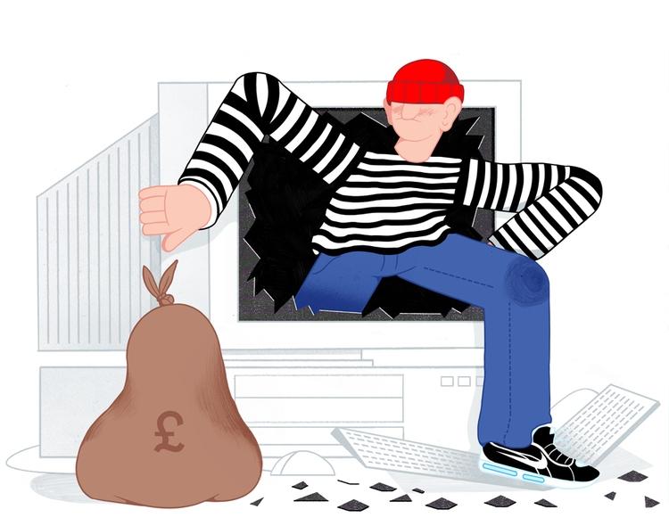 Online Theft - mikedriver   ello
