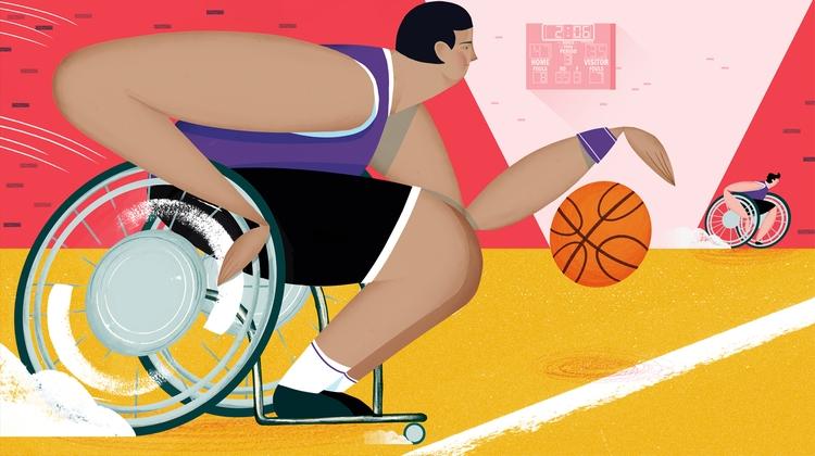piece Mosaic Science wheelchair - mikedriver   ello