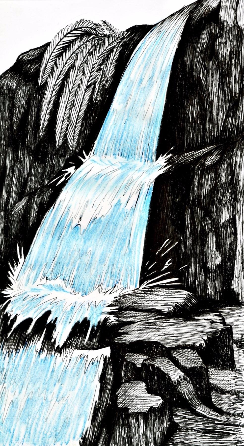 Deixa fluir Flow) Nanquim lápis - ecambuijr | ello