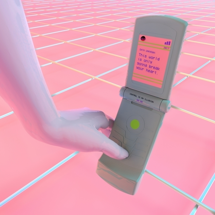 world babe  - C4D, artdaily, digital - luisagolden | ello