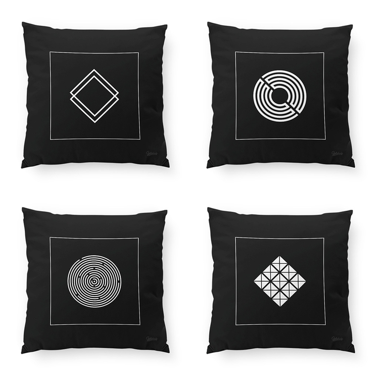 Addition Geometric Cushions 6 s - solehab | ello