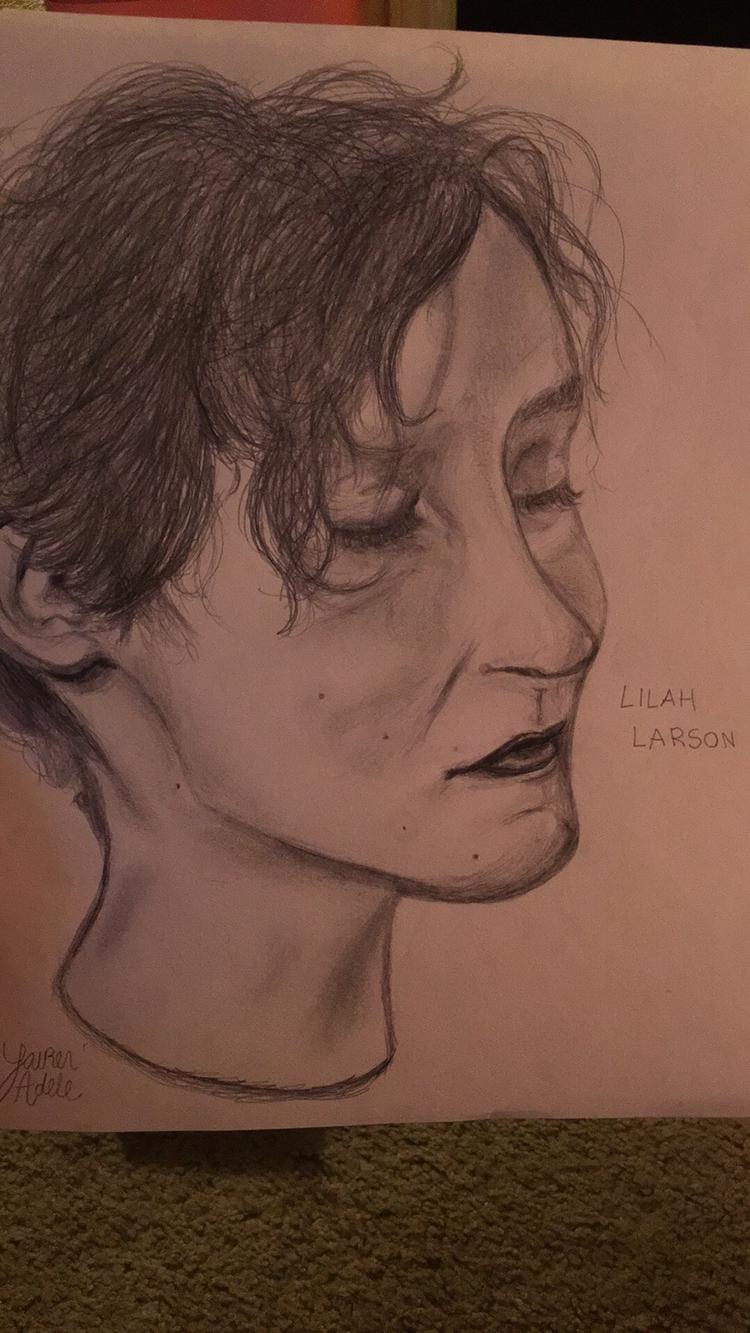 2 hour Portrait Lilah Larson - art - hoodvampire | ello