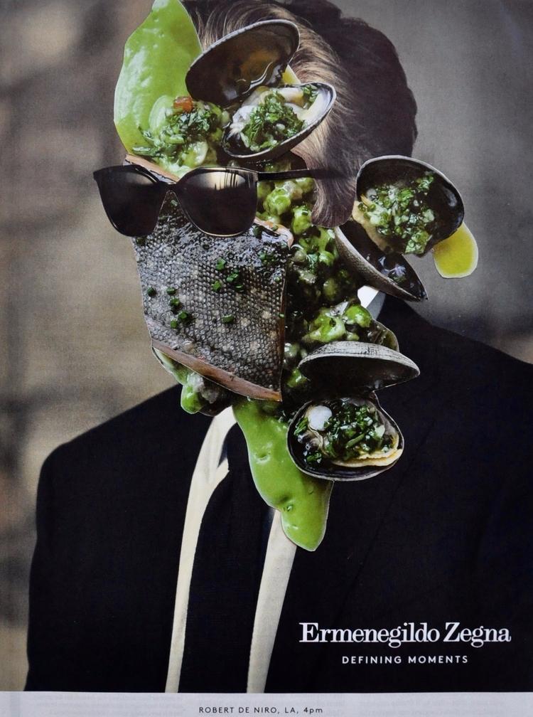 Portrait De Niro (2017 - collage - christopherdeminsky | ello