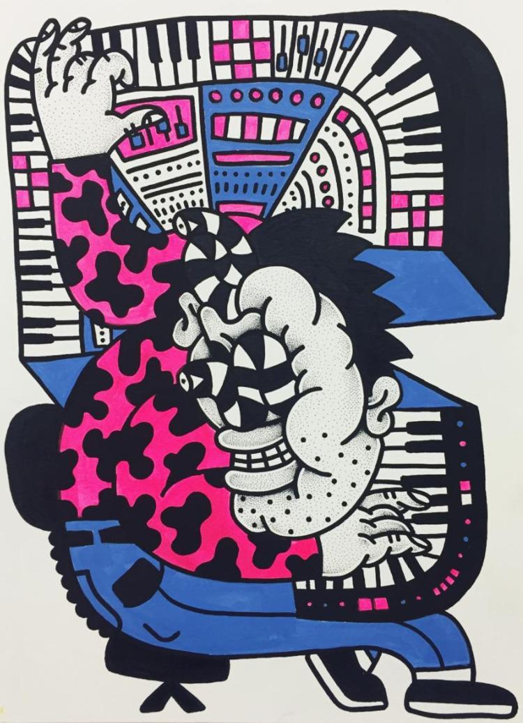 music, illustration, character - benestuff | ello