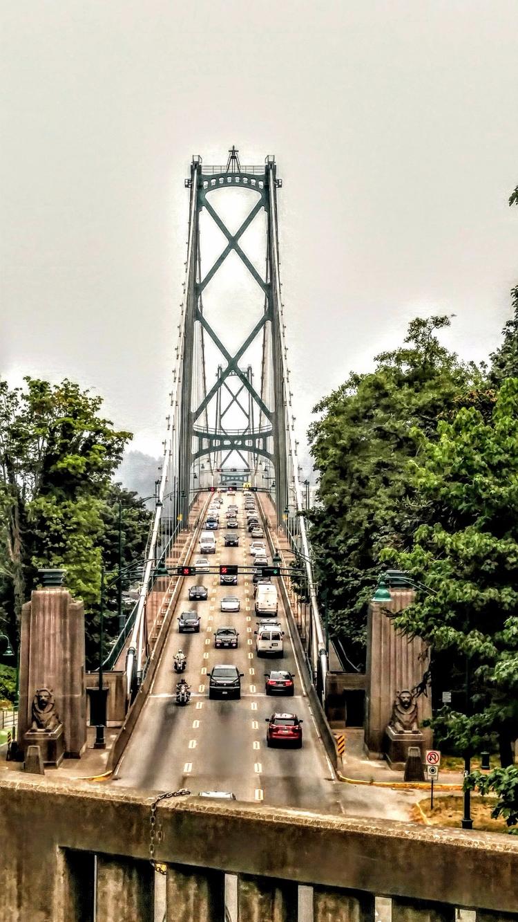 Lionsgate bridge Stanley park - Stanleypark - anthony225 | ello