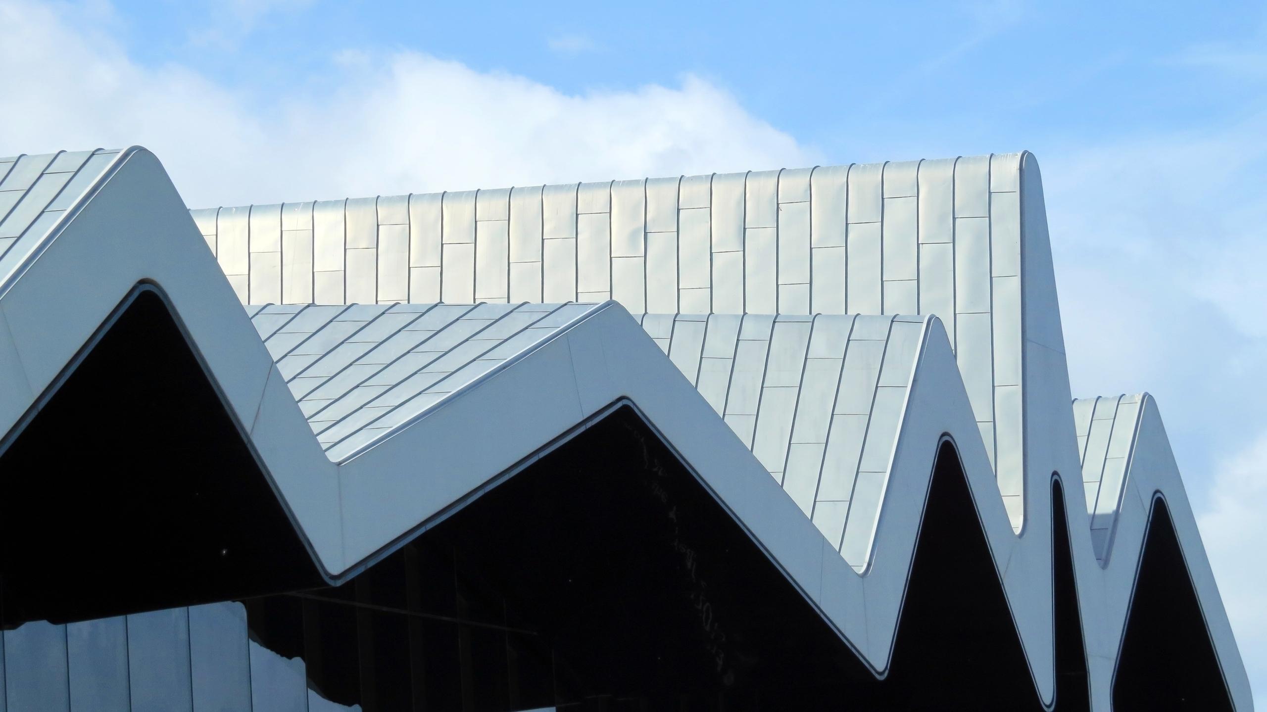 Roof Riverside museum - Glasgow - zondervrees | ello