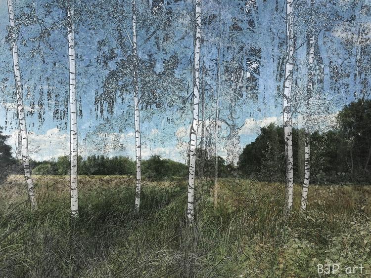 Landschaft  - BJP_art, Lichtspurkomposition - bringfried | ello