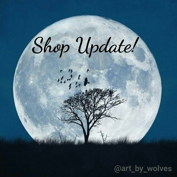 Happy Full Moon! apologize day  - artbywolves | ello