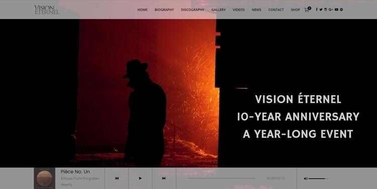 check brand Vision Éternel webs - visioneternel | ello