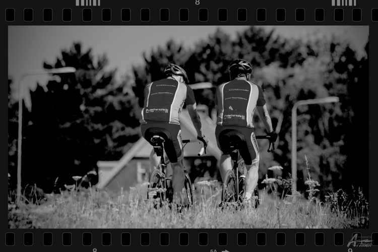 Landscape cyclists - artmen | ello