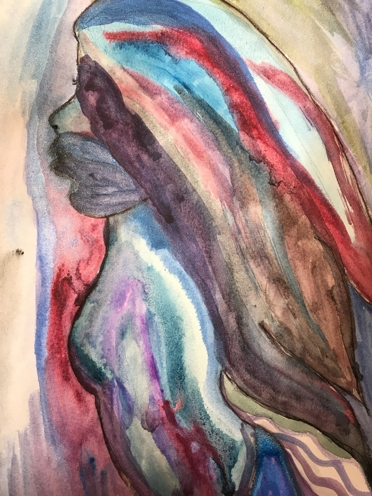 Colors - abstract, watercolors - allyzcat | ello