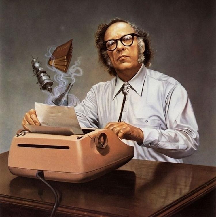 Isaac Asimov - milanostphn | ello