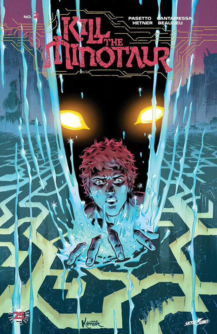 Kill Minotaur Review survived l - comicbuzz | ello