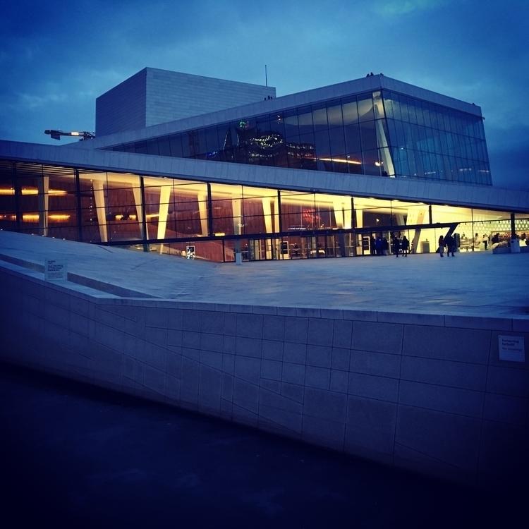 great building Norway Oslo Oper - stigergutt | ello