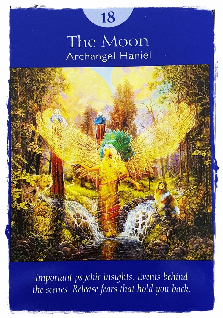 Angel Tarot ~ Aug 9 - Intuition - speedykitty | ello