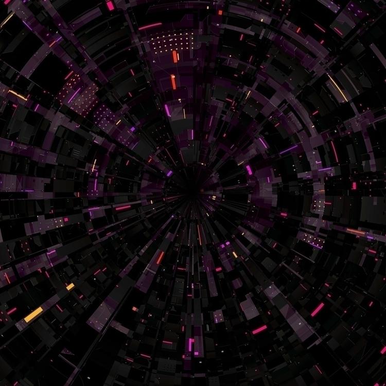 TERMINAL - Circular Sci-Fi Text - insgraphizm | ello