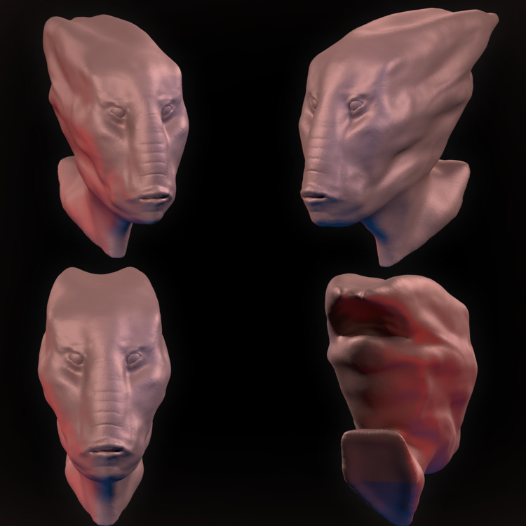 Alien Species Wanted Sculpting  - malcolmcrowther | ello