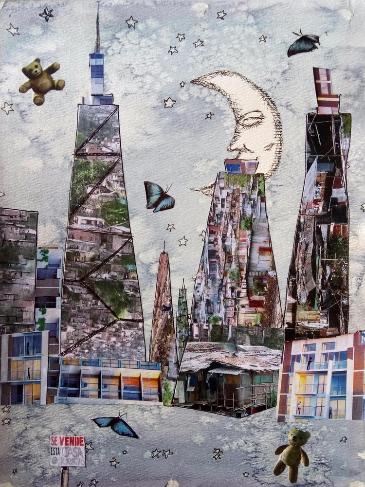 Dreaming Skyscrapers series col - rinamr | ello