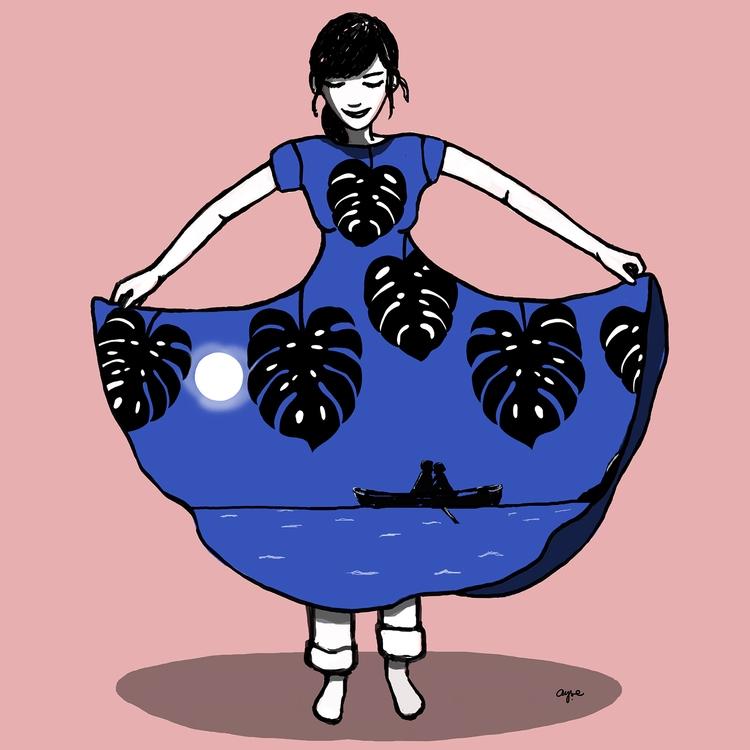 story, dress, happy, fashion - ayses | ello