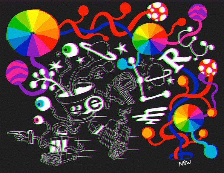 art, illustration, design - n8wn8w   ello