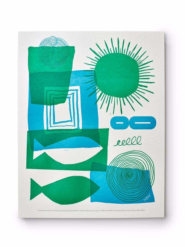 art, letterpress, illustration - n8wn8w | ello