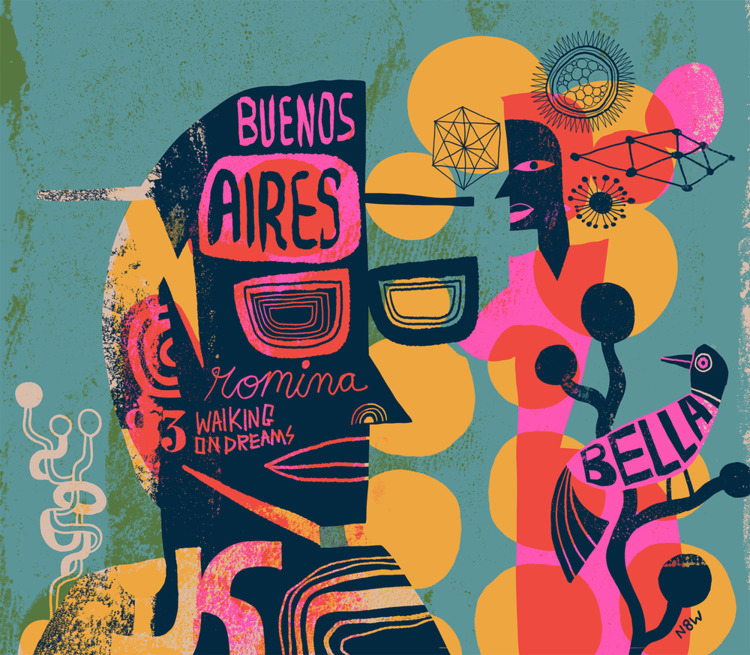 art, illustration, design, buenosaires - n8wn8w | ello