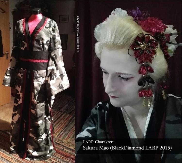 sewing work :) Kimono LAPR-Char - cglightningart | ello