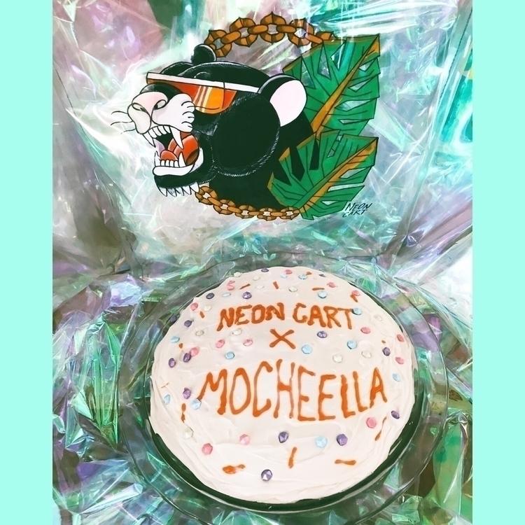 NEON CART + MOCHEELLA collabora - neoncart | ello