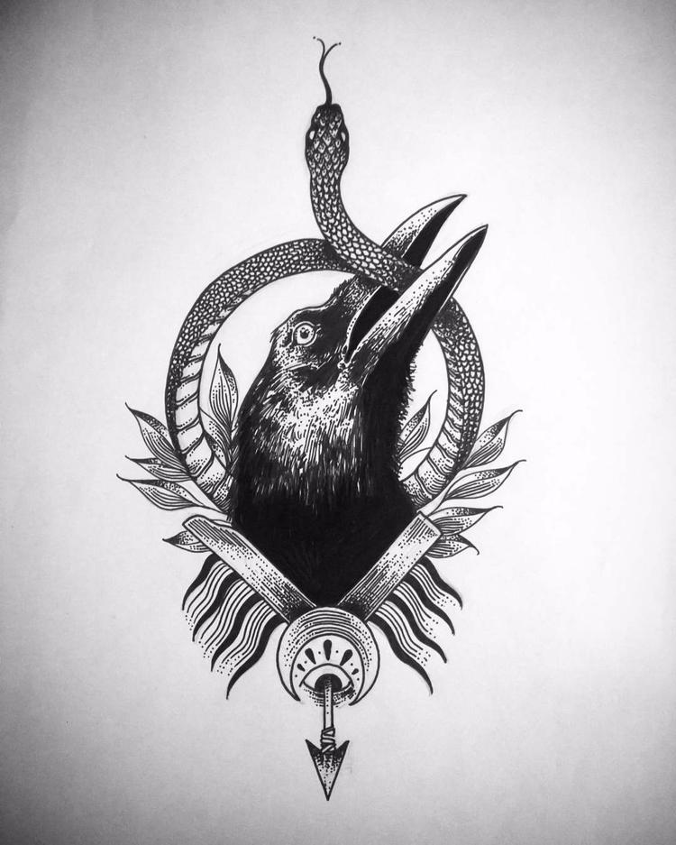 Corvus tasmanicus alethinophidi - leonardofrey | ello