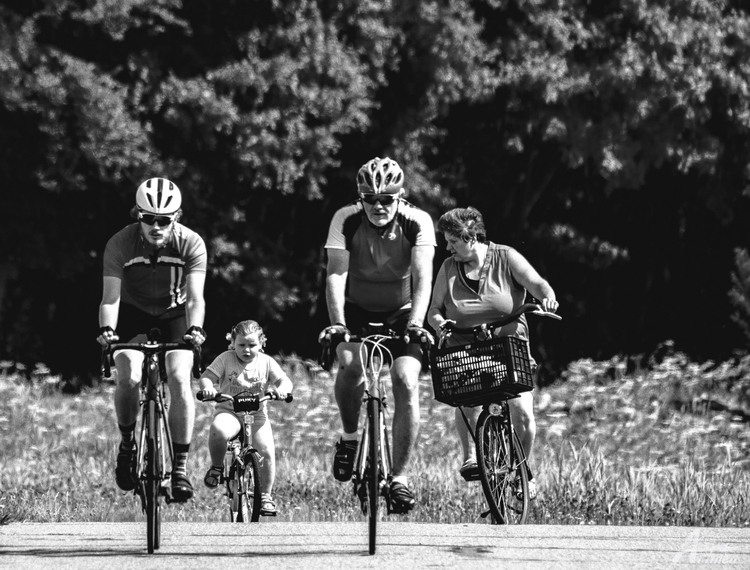girl quickly cycling - artmen | ello