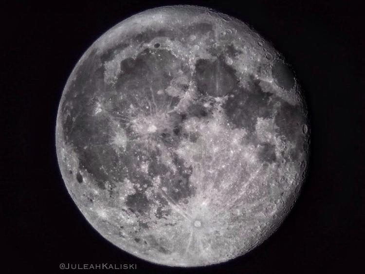 Wanning Crescent Moon. 8.9.17 - Astronomy - juleahkaliski | ello
