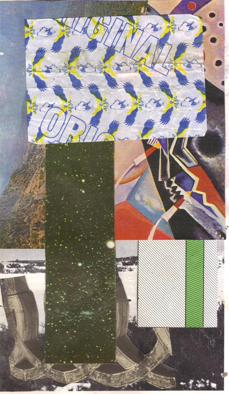 collage, contemporary, abstract - lacaradenadie | ello