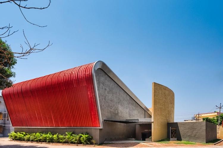 Auditorium il Mandvi Education  - elloarchitecture | ello