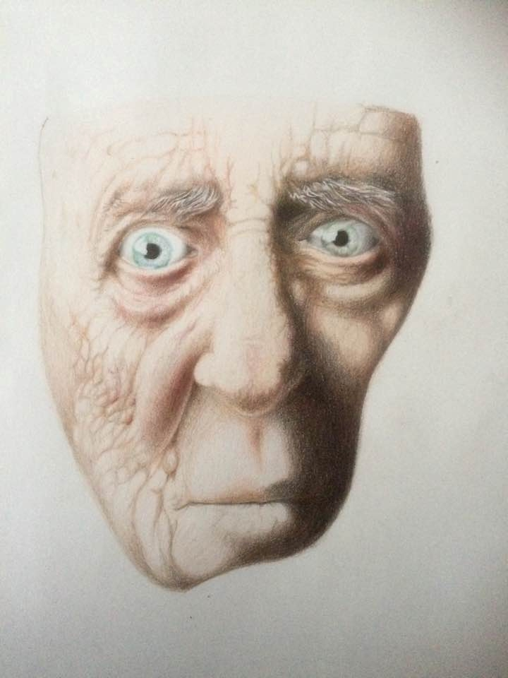 Study Age - Pencil Crayon paper - robert_bentley | ello